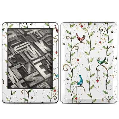 Amazon Kindle 2014 Skin - Royal Birds