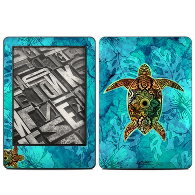 Amazon Kindle 2014 Skin - Sacred Honu