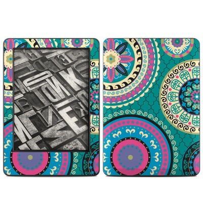 Amazon Kindle 2014 Skin - Silk Road