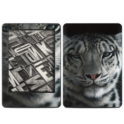 Amazon Kindle 2014 Skin - Silver Shadows