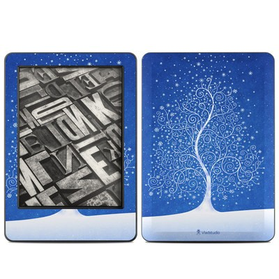 Amazon Kindle 2014 Skin - Snowflakes Are Born