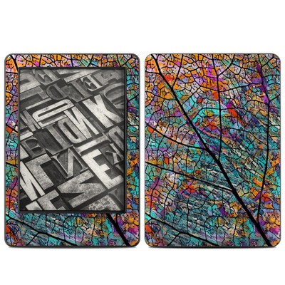 Amazon Kindle 2014 Skin - Stained Aspen
