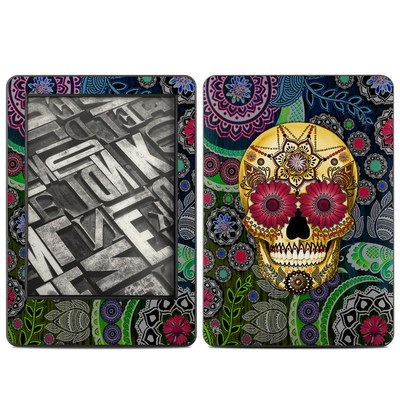 Amazon Kindle 2014 Skin - Sugar Skull Paisley