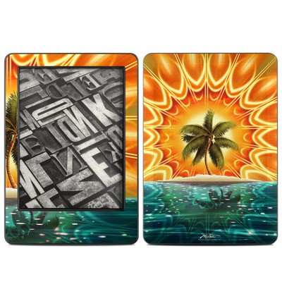 Amazon Kindle 2014 Skin - Sundala Tropic