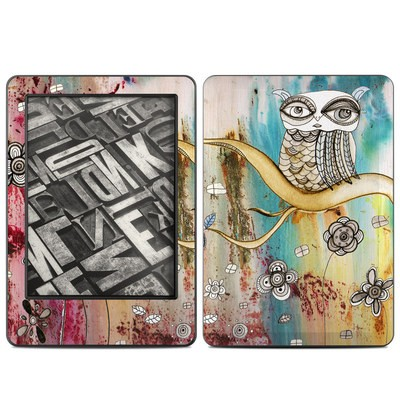 Amazon Kindle 2014 Skin - Surreal Owl