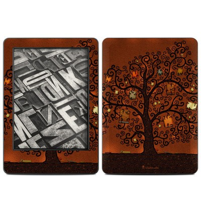 Amazon Kindle 2014 Skin - Tree Of Books
