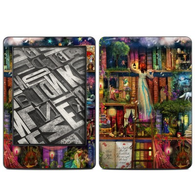 Amazon Kindle 2014 Skin - Treasure Hunt