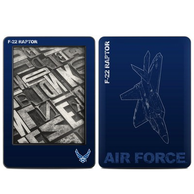 Amazon Kindle 2014 Skin - F-22 Raptor
