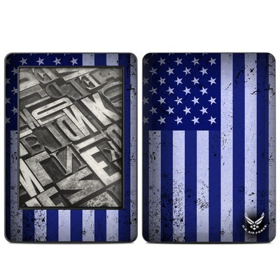 Amazon Kindle 2014 Skin - USAF Flag