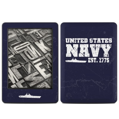 Amazon Kindle 2014 Skin - USN 1775