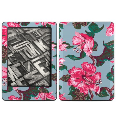 Amazon Kindle 2014 Skin - Vintage Hibiscus