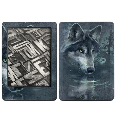 Amazon Kindle 2014 Skin - Wolf Reflection