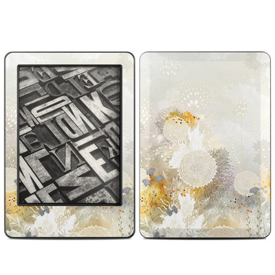Amazon Kindle 2014 Skin - White Velvet