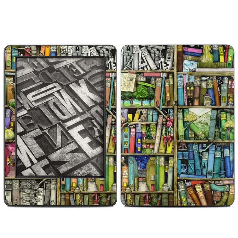 Amazon Kindle 2014 Skin Bookshelf