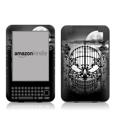 Kindle Keyboard Skin - Abandon Hope