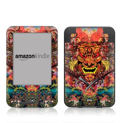 Kindle Keyboard Skin - Asian Crest