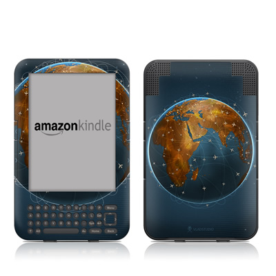 Kindle Keyboard Skin - Airlines