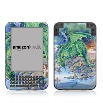 Kindle Keyboard Skin - Of Air And Sea
