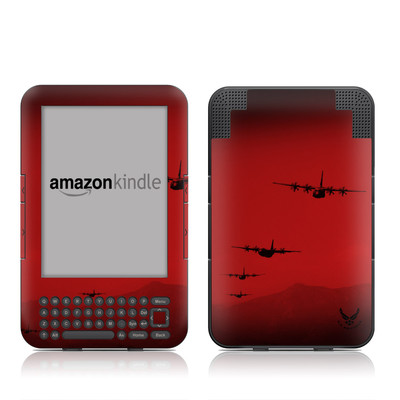 Kindle Keyboard Skin - Air Traffic