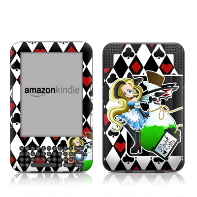 Kindle Keyboard Skin - Alice