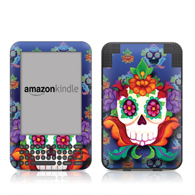 Kindle Keyboard Skin - Altar Skull