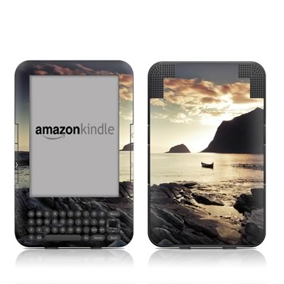 Kindle Keyboard Skin - Anchored