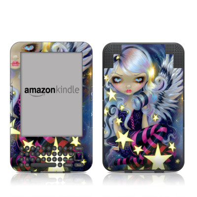Kindle Keyboard Skin - Angel Starlight