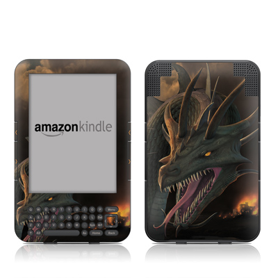 Kindle Keyboard Skin - Annihilator