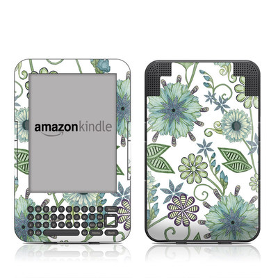 Kindle Keyboard Skin - Antique Nouveau