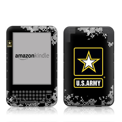 Kindle Keyboard Skin - Army Pride