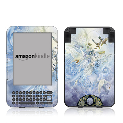 Kindle Keyboard Skin - Aquarius