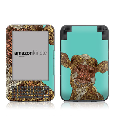 Kindle Keyboard Skin - Arabella
