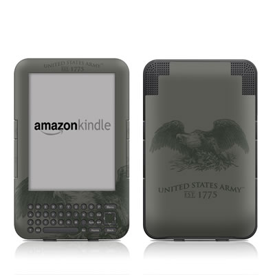 Kindle Keyboard Skin - Army Crest