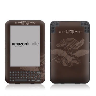 Kindle Keyboard Skin - Army Preserved