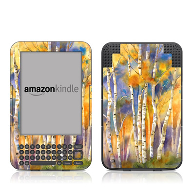 Kindle Keyboard Skin - Aspens