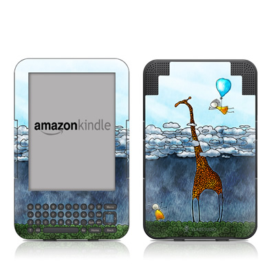 Kindle Keyboard Skin - Above The Clouds