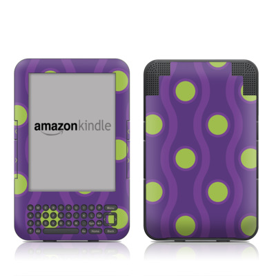 Kindle Keyboard Skin - Atomic