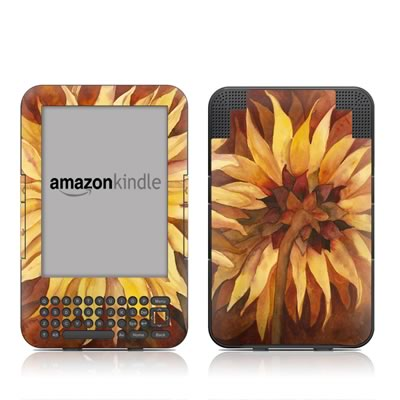 Kindle Keyboard Skin - Autumn Beauty