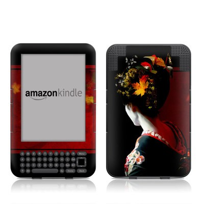 Kindle Keyboard Skin - Autumn