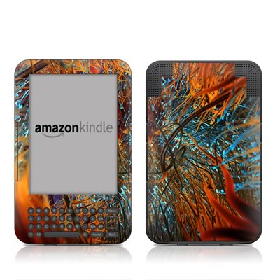 Kindle Keyboard Skin - Axonal
