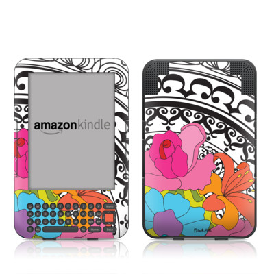 Kindle Keyboard Skin - Barcelona