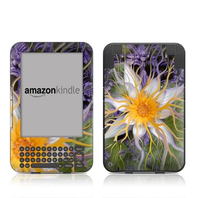 Kindle Keyboard Skin - Bali Dream Flower