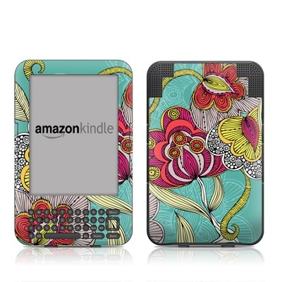 Kindle Keyboard Skin - Beatriz