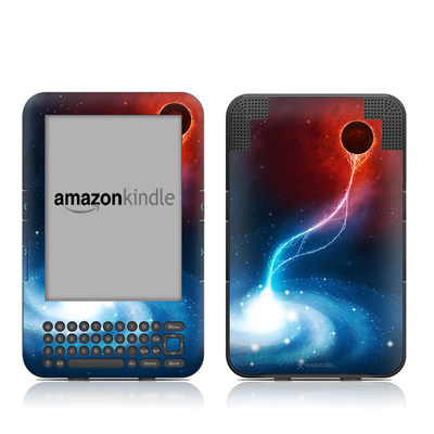 Kindle Keyboard Skin - Black Hole