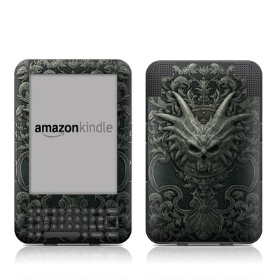Kindle Keyboard Skin - Black Book