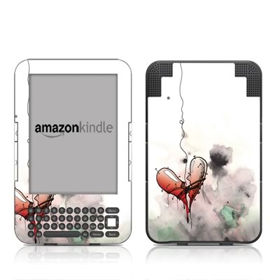 Kindle Keyboard Skin - Blood Ties