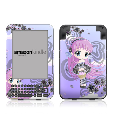 Kindle Keyboard Skin - Blossom