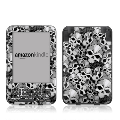 Kindle Keyboard Skin - Bones