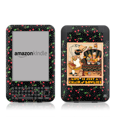 Kindle Keyboard Skin - Chair of Bowlies