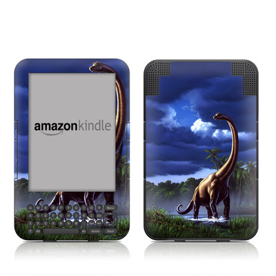 Kindle Keyboard Skin - Brachiosaurus